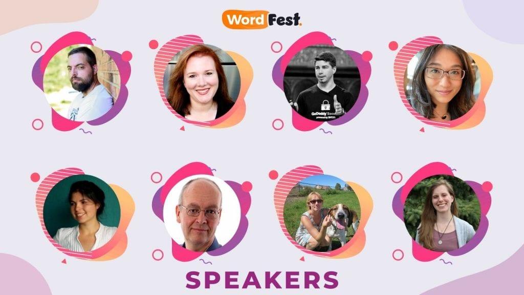 WordFest Live 2021 Speakers - Batch #4