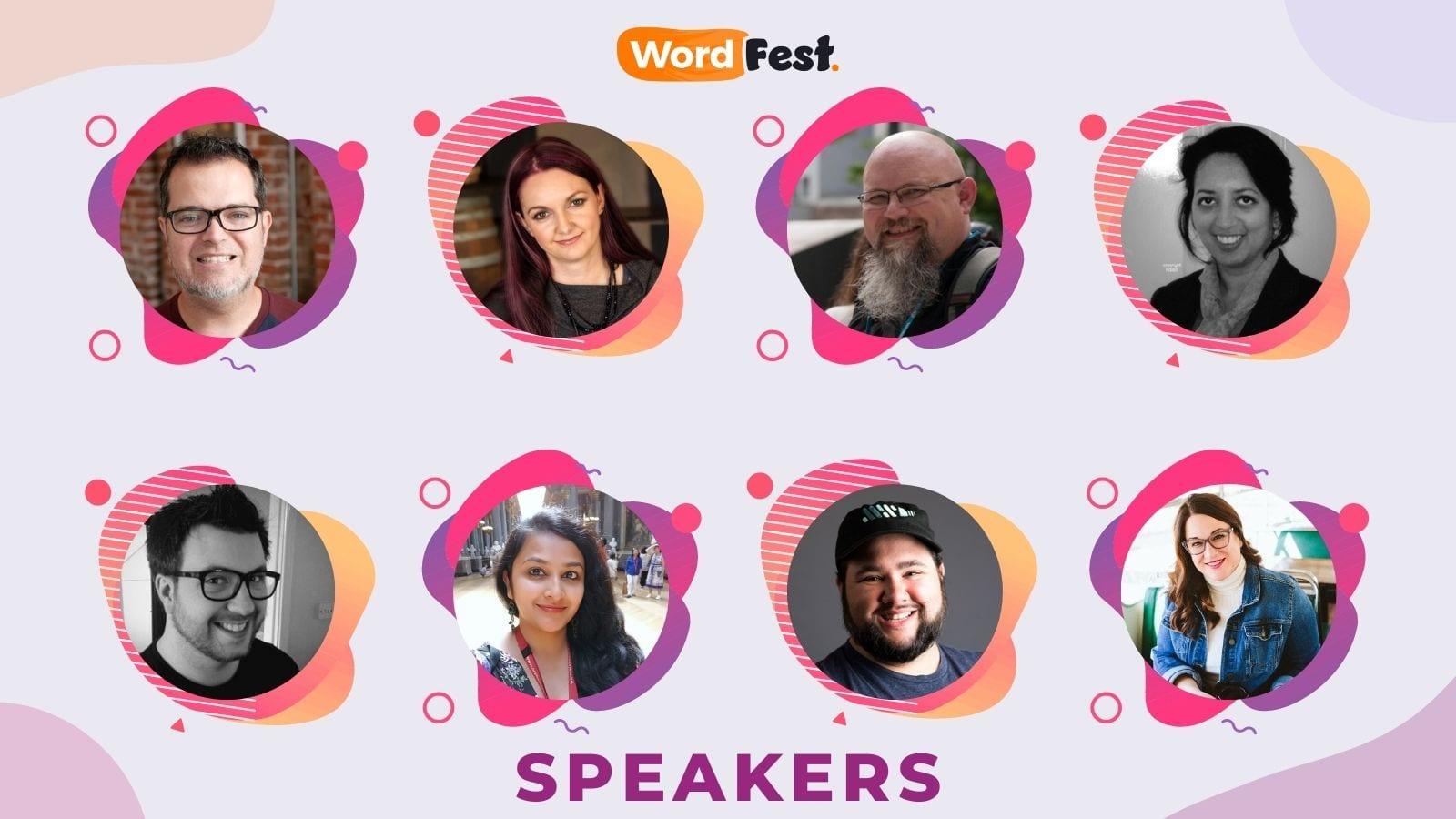 WordFest Live 2021 Speakers - Batch #6
