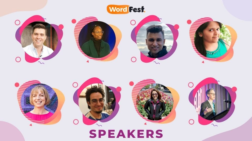 WordFest Live 2021 Speakers - Batch #5