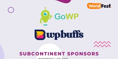 GoWP and WP Buffs Partner with WordFest Live 2021