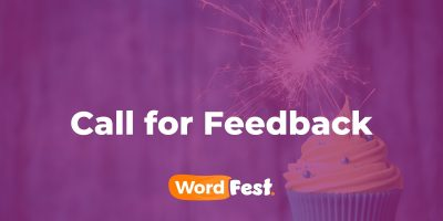 WordFest Live 2021 - Call for Feedback