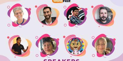 WordFest Live 2021 Speakers - Batch #3